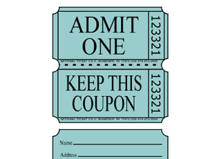 Coupon Roll / Raffle Tickets
